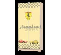 Шкаф детский «СпортКар» жёлтый