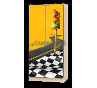 Шкаф детский «Спорт» жёлтый