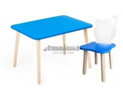 Комплект детской мебели Джери с бело-голубым стульчиком