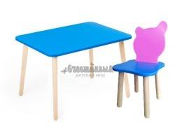 Комплект детской мебели Джери с розово-голубым стульчиком
