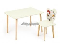 Комплект детской мебели Джери с ванильным столиком