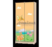 Шкаф детский «Дино» бежевый