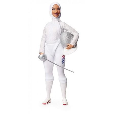 Барби Фехтовальщица - Ибтихадж Мухаммад, Mattel