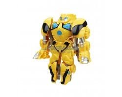 Робот - трансформер Бамбл Би - Динозавр - 13 см желтый