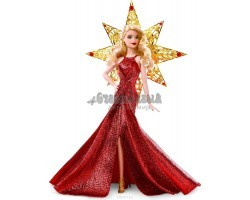 Barbie Кукла Праздничная в красном платье блондинка