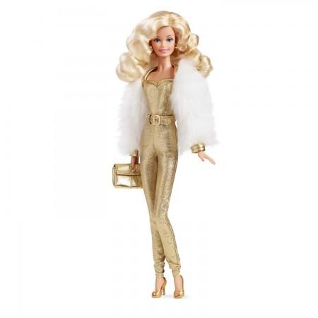 """Коллекционная кукла """"Барби"""" - Золотые мечты, Mattel"""