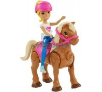 Набор Барби в движении Пони и кукла Barbie