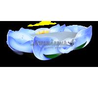 """Кровать - Цветок """"Дюймовочка"""" голубая"""