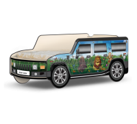 Кровать-машина Джип Хаммер «Африка-Бабочки»