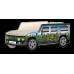 Кровать-машина Джип Хаммер «Африка-Бабочки», Carobus
