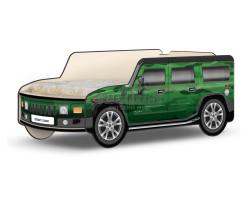 Кровать-машина Джип Хаммер «Хаки»