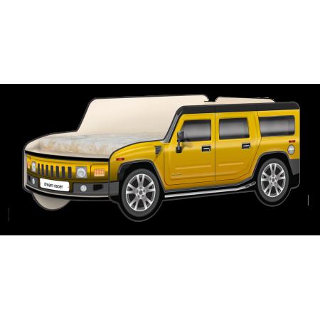 "Кровать-машина Джип Хаммер ""Классик"" жёлтый, Carobus"