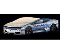 Кроватка-машинка Ламбо Police