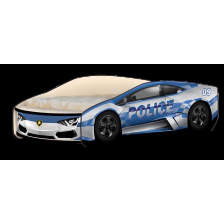 Кроватка-машинка Ламбо Police, Carobus
