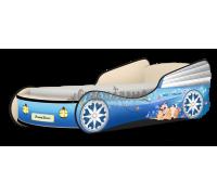 Кровать-машина Кабриолет Мэджик голубой