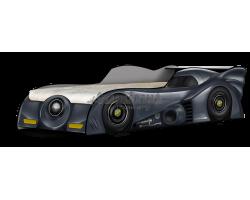 Кровать - машина БетМобиль чёрный