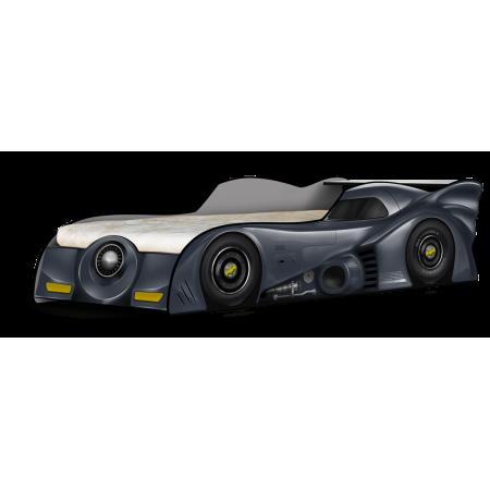 Кровать - машина БетМобиль чёрный, Carobus