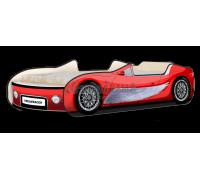 Кровать-машина Кабри Крылья красный