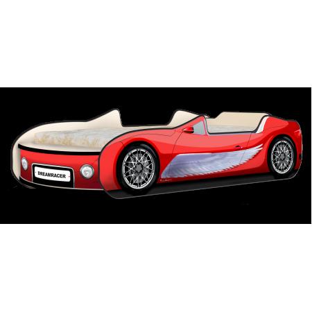 Кровать-машина Кабри Крылья красный, Carobus
