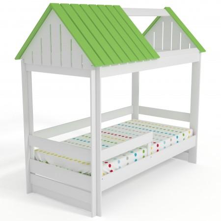 Кровать Домик Нежность-К С крышей без окна, Bambini Letto