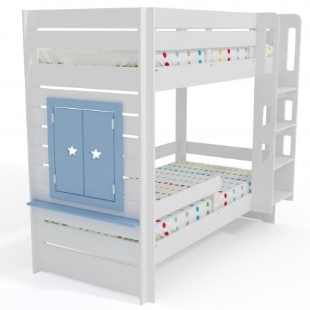 Двухъярусная кровать Малыш 2+ с окном, Bambini Letto