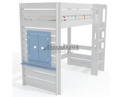 Кровать-чердак Малыш 1+ с окном