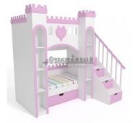 Детская двухъярусная кровать - Замок