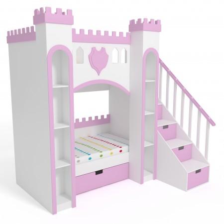 Детская двухъярусная кровать - Замок, Bambini Letto