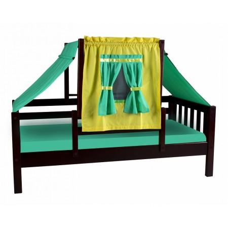 Кровать со шторками Кнопа - 1, МЕБЕЛЬ ХОЛДИНГ