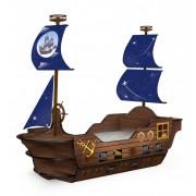 Детская кровать корабль