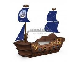 Кровать Пиратский Корабль