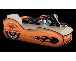 Кровать Мотоцикл с коляской