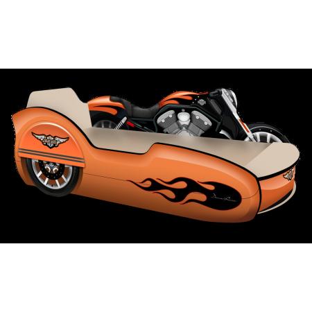 Кровать Мотоцикл с коляской, Carobus