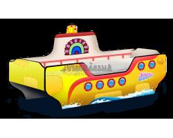 Кровать Подводная Лодка Жёлтая