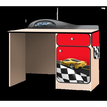 Carobus письменный стол Лого красный, Carobus