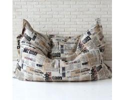 Детское кресло - подушка Газета