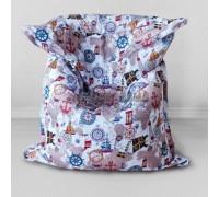 Детское кресло - подушка Карта