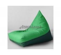 Кресло мешок Пирамида Green