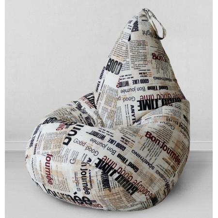 Кресло мешок Газета, MyPuff