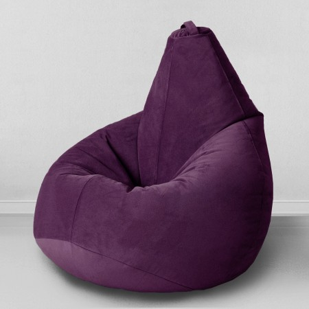 Кресло мешок Баклажан, MyPuff