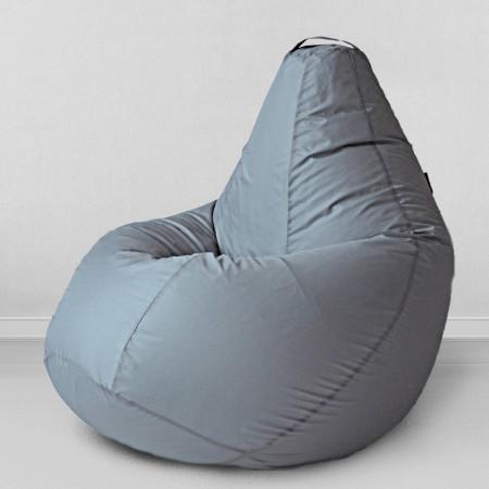 Кресло мешок Серебристо - серый, MyPuff