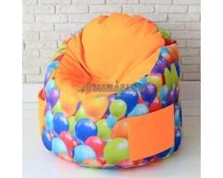 Детский пенек  Воздушные шары Оранжевый