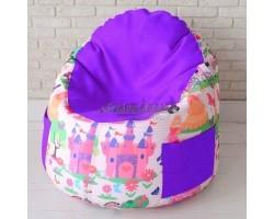 Детский пенек  Принцесса Фиолетовый