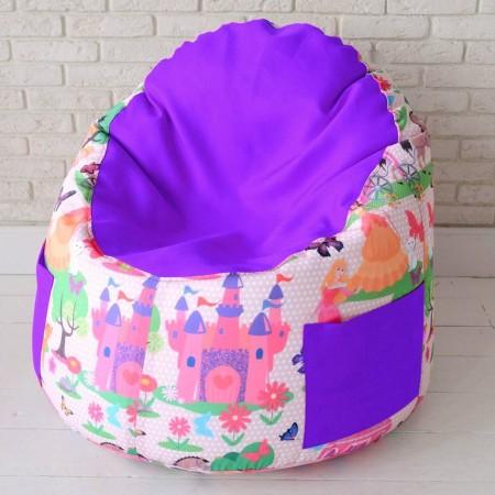 Детский пенек  Принцесса Фиолетовый, MyPuff