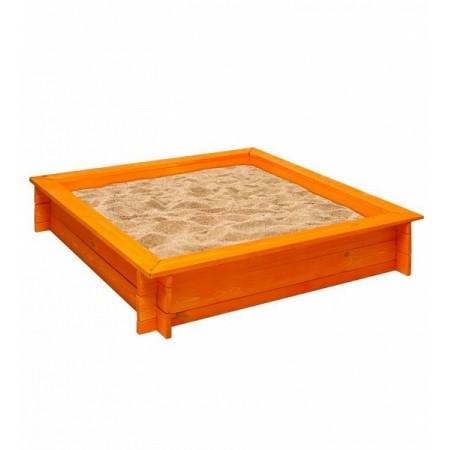 15996, Деревянная песочница Афина, PS117-03, 4590ք, Деревянная песочница Афина 4 лавки, пропитка, подложка, PAREMO, Детские песочницы