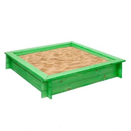 15998, Деревянная песочница Клио, PS117-01, 4590ք, Деревянная песочница Клио 4 лавки, пропитка, подложка, PAREMO, Детские песочницы