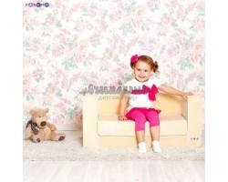 Раскладной бескаркасный диванчик для детей, цв. Бежевый