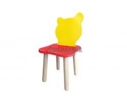 Детский стульчик Джери Красно-желтый