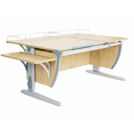 Парта Дэми СУТ 17-02 (парта 120 см+две задние приставки+боковая приставка), ДЭМИ Мебель
