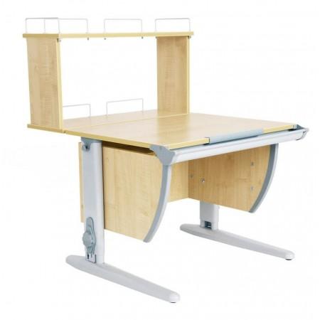 Парта Дэми  СУТ 14-01Д (парта 75 см+задняя двухъярусная приставка), ДЭМИ Мебель